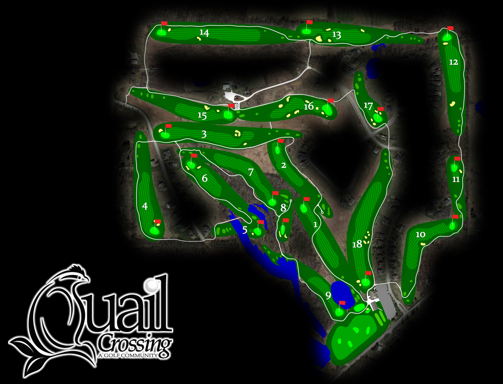 Quail Crossing course layout
